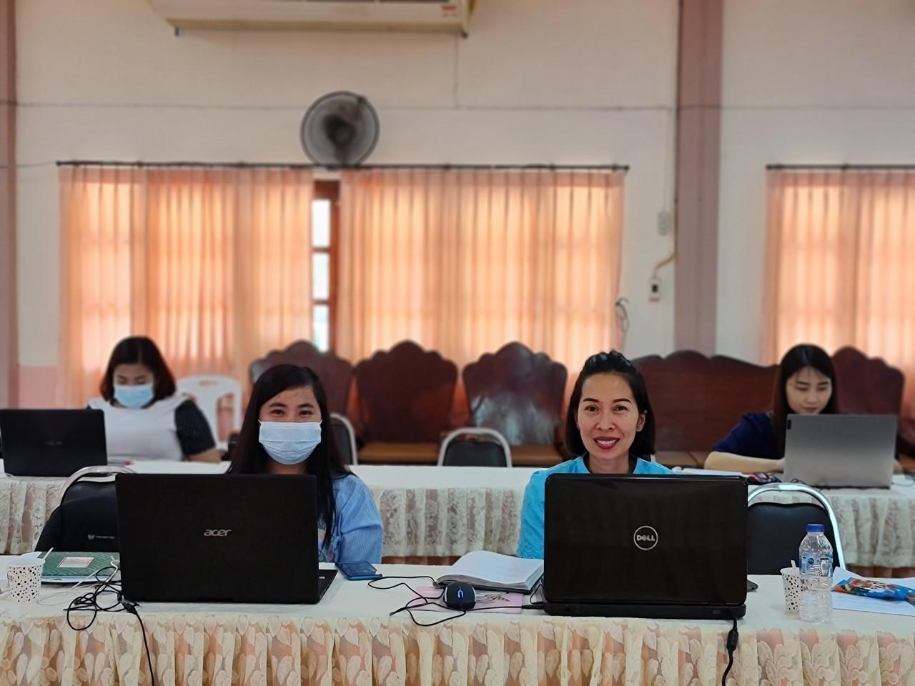 19 มีนาคม 2564 ประชุมผ่านระบบออนไลน์หลักสูตรการจัดกิจกรรม กศน.ป้องกันภาวะซึมเศร้า