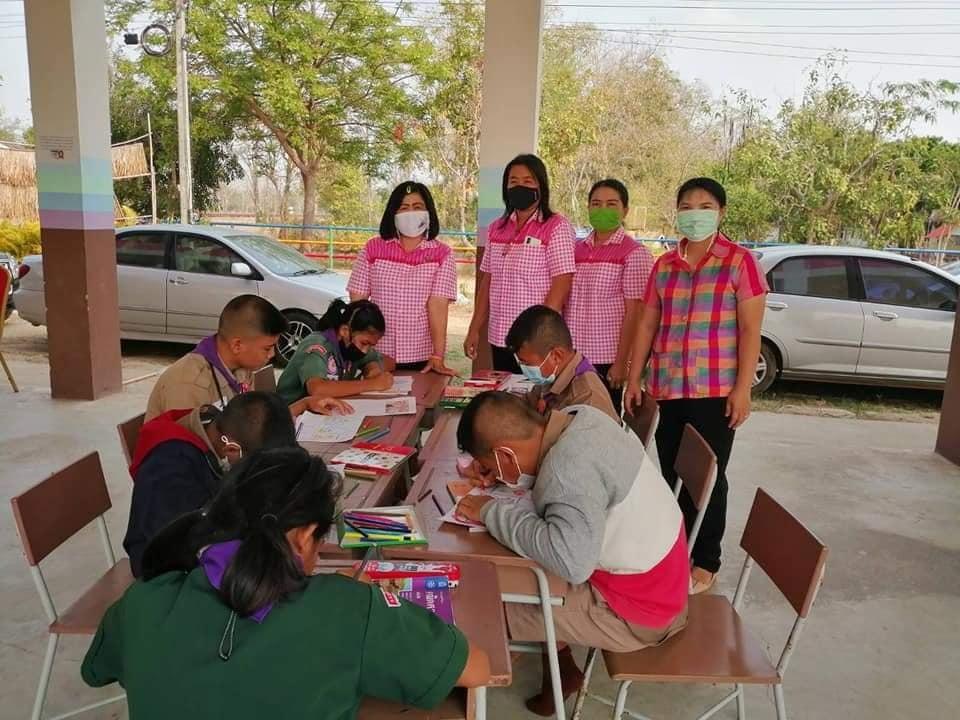 กิจกรรมส่งเสริมการอ่าน ณ โรงเรียนบ้านเด่นพระ