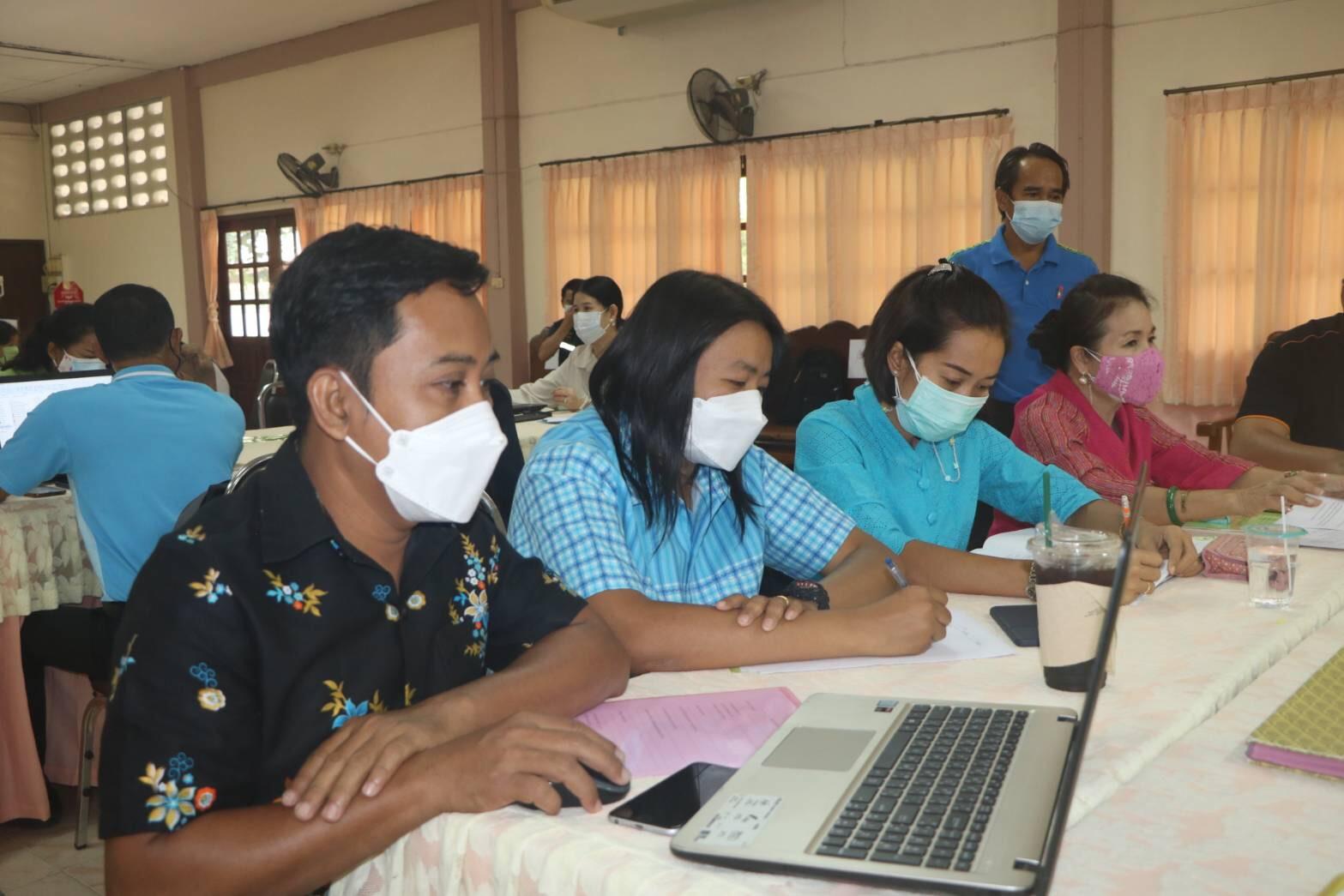 เข้าร่วมโครงการการประชุมปฏิบัติการจัดทำสรุปผลการนิเทศ ติดตาม ประเมินและรายงานผลการจัดกิจกรรม กศน.ของสถานศึกษาฯ