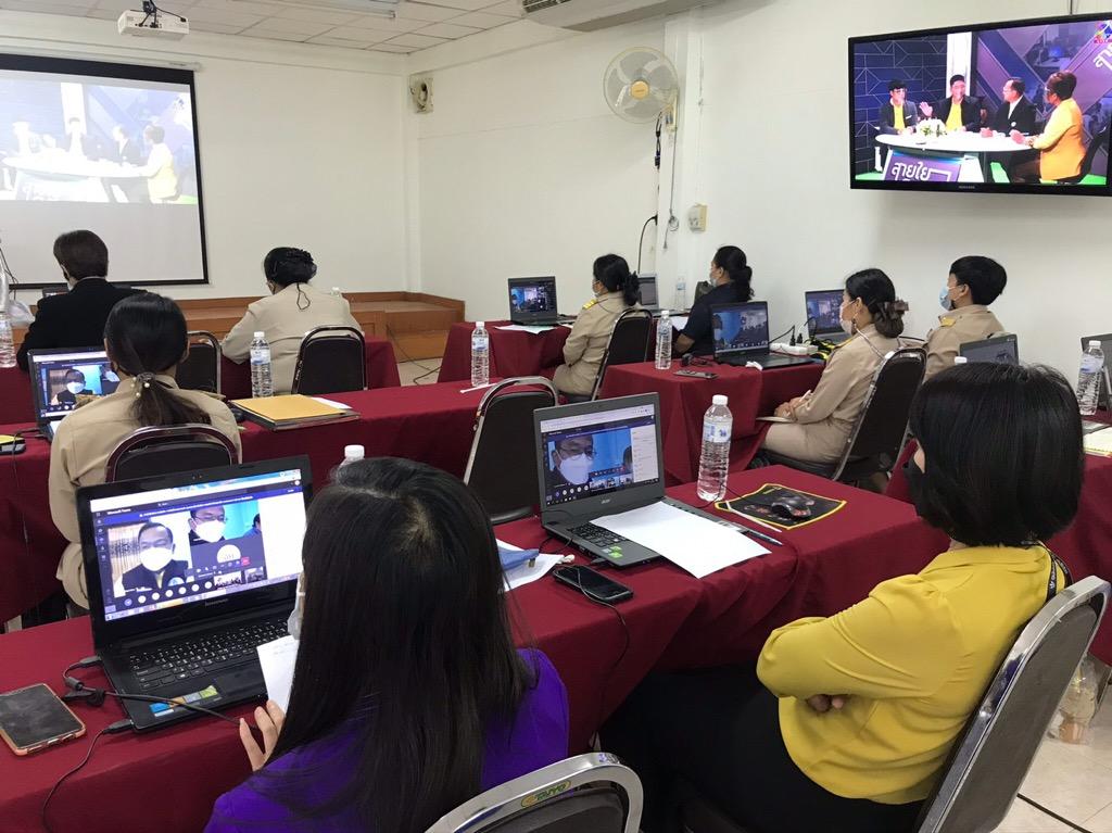 โครงการประชุมเชิงปฎิบัติการพัฒนาระบบช่วยเหลือผู้เรียนและการเรียนรายบุคคล